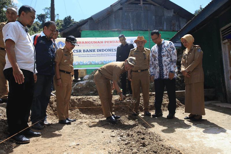Bank Indonesia Penuhi Janji CSR Sanitasi untuk Kendari